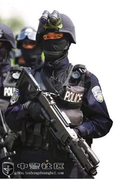 高科技特警装备大盘点 亮瞎你的眼