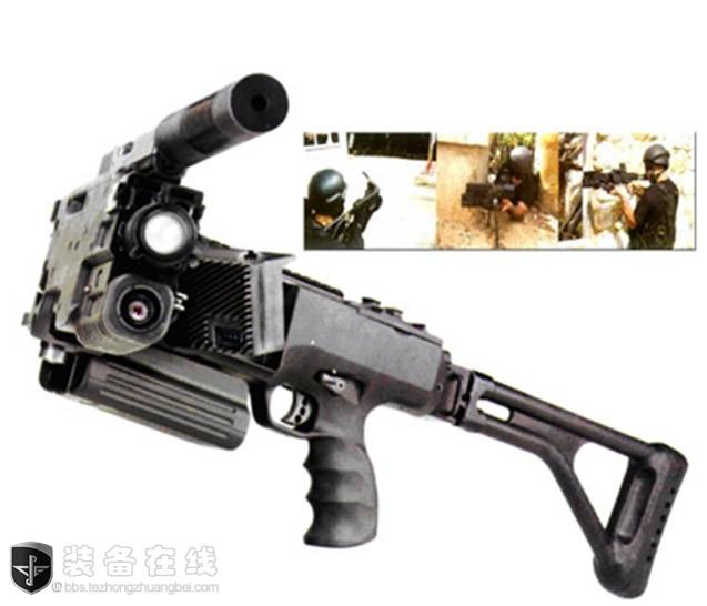 """反恐利器""""拐弯枪""""——不是最初设计者,中国却有最先进的!"""